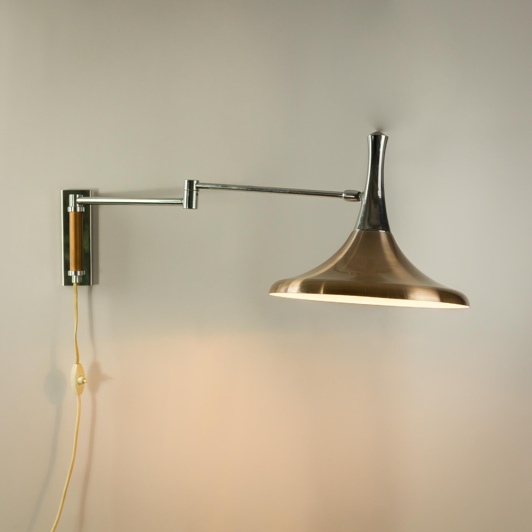 magic wand swing arm wall lamp domicile swing arm wall lamp
