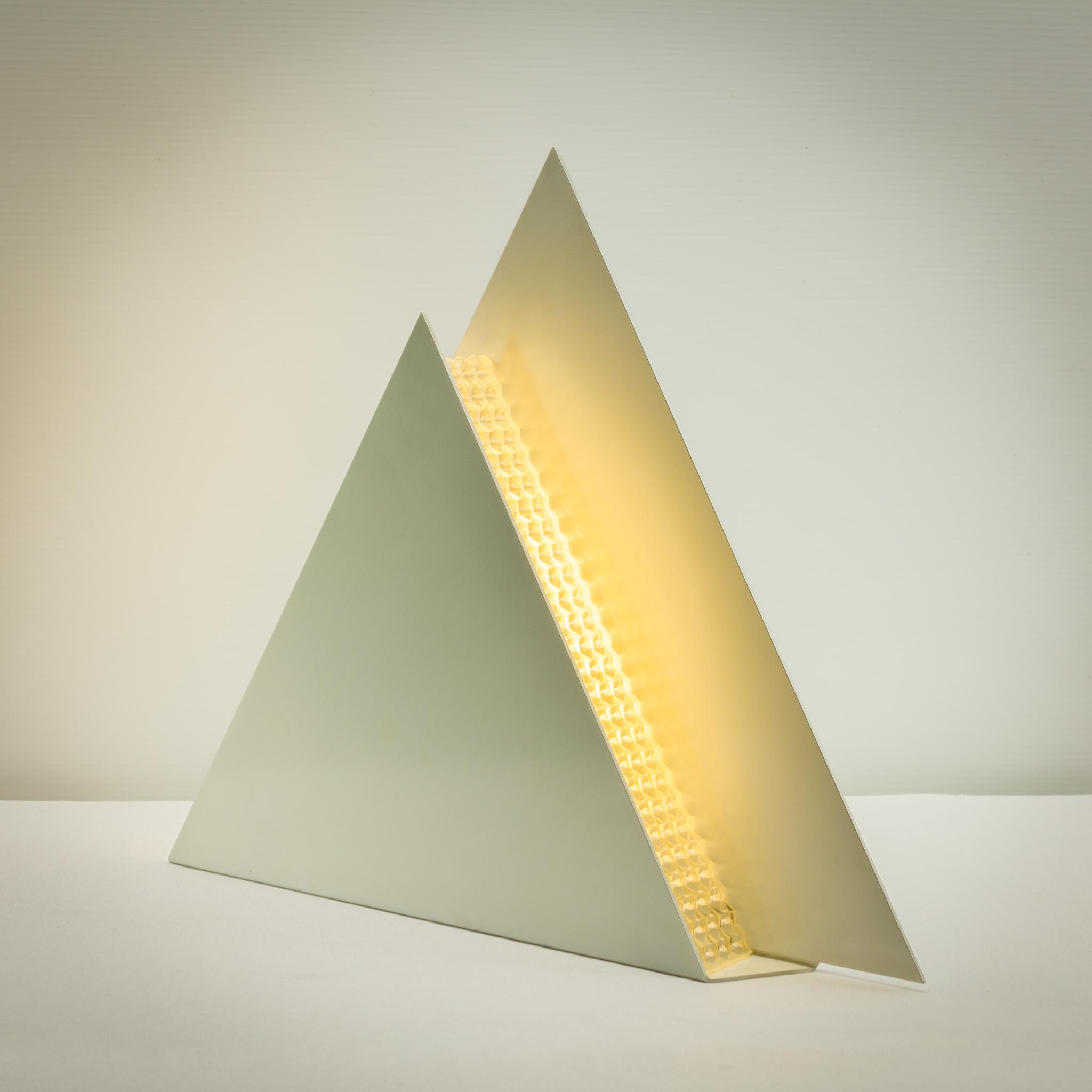 Jaren 70 Piramide Lamp Tafellamp BarbMama