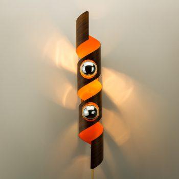 _MG_8464 45251900L 60's Raak spiraal wandlamp Design Vintage Retro Barbmama
