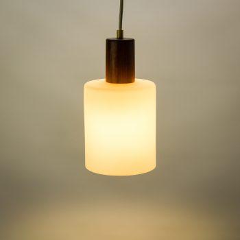 _MG_8489 45252400L 50's Louis Kalff hanglamp teak - opaal glas Design Vintage Retro Barbmama