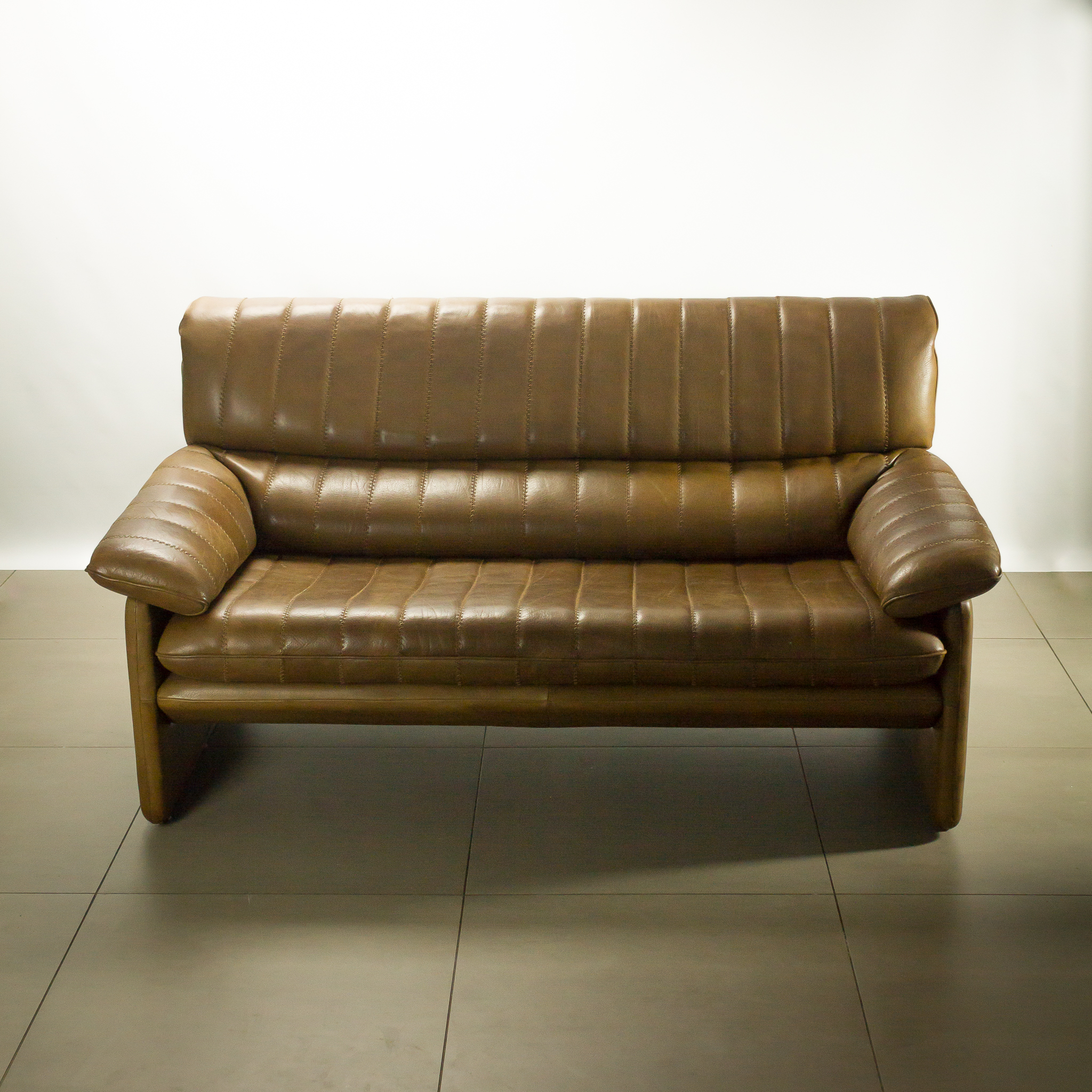Design Vintage Bank.De Sede Ds 85 2 Zits Leren Bank Topstuk Barbmama