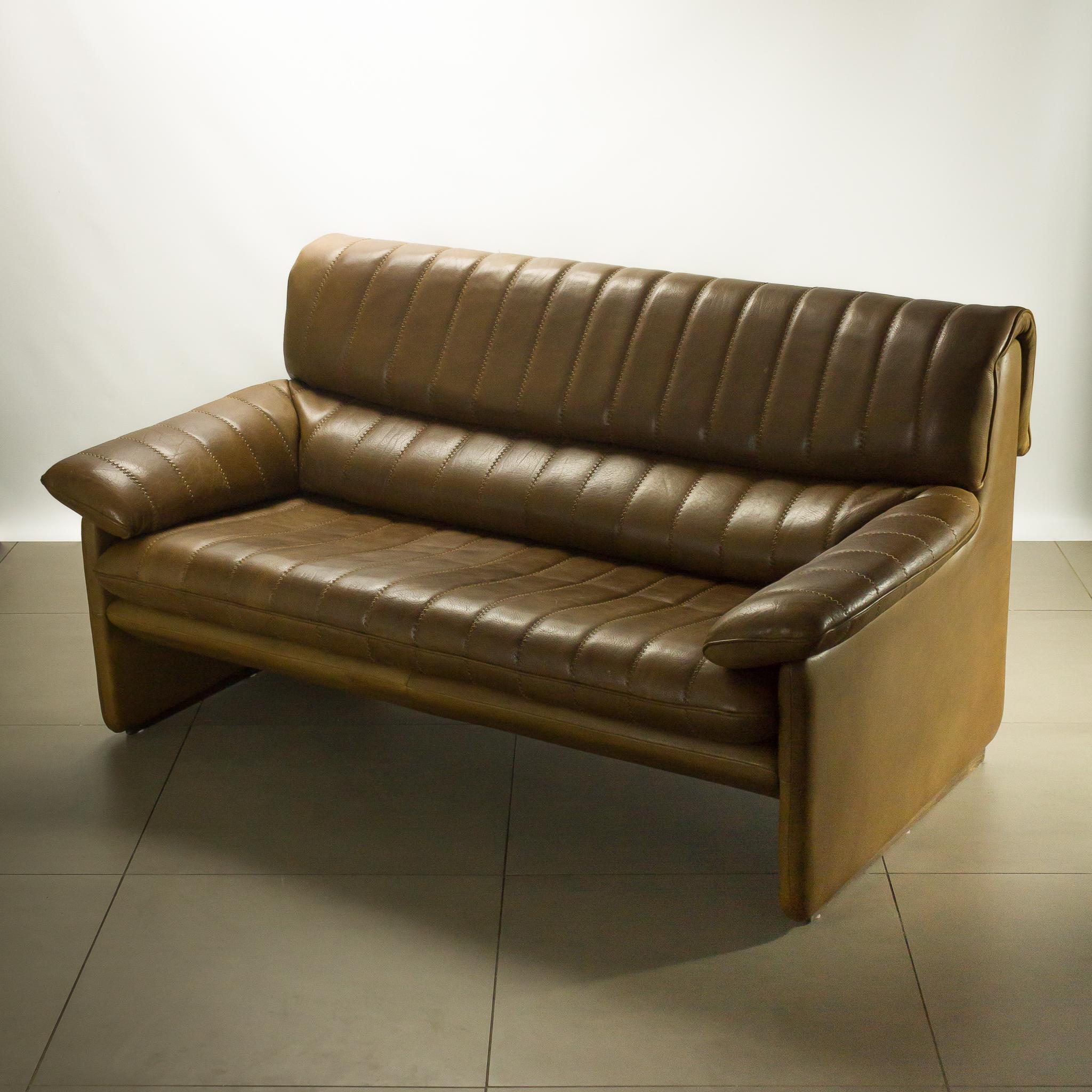 de sede ds 85 2 zits leren bank topstuk barbmama. Black Bedroom Furniture Sets. Home Design Ideas