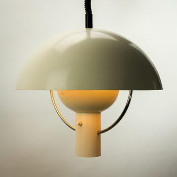 _MG_8902 86251100L 60's Dijkstra Lampen metalen paddestoel hanglamp Design Vintage Retro Barbmama