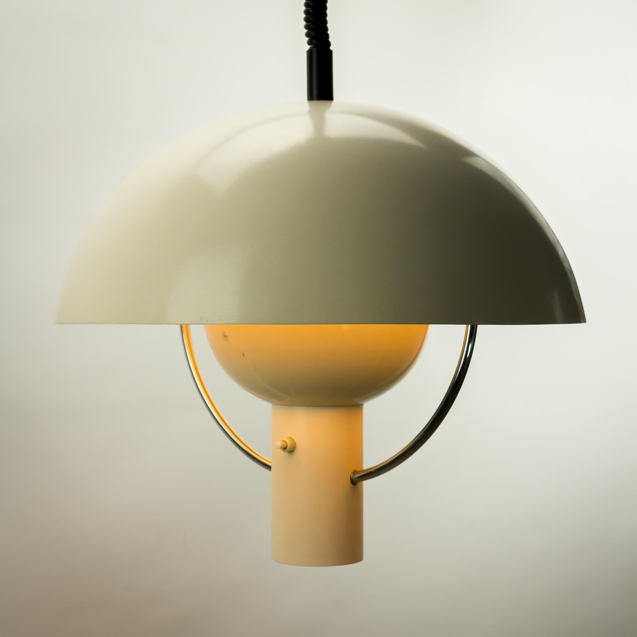 60 s dijkstra lampen metalen paddestoel hanglamp barbmama