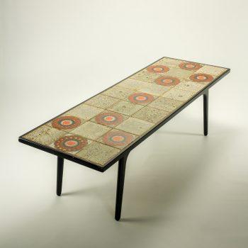_MG_9007 57250100T jaren 70 salontafel met tegel blad Design Vintage Retro Barbmama