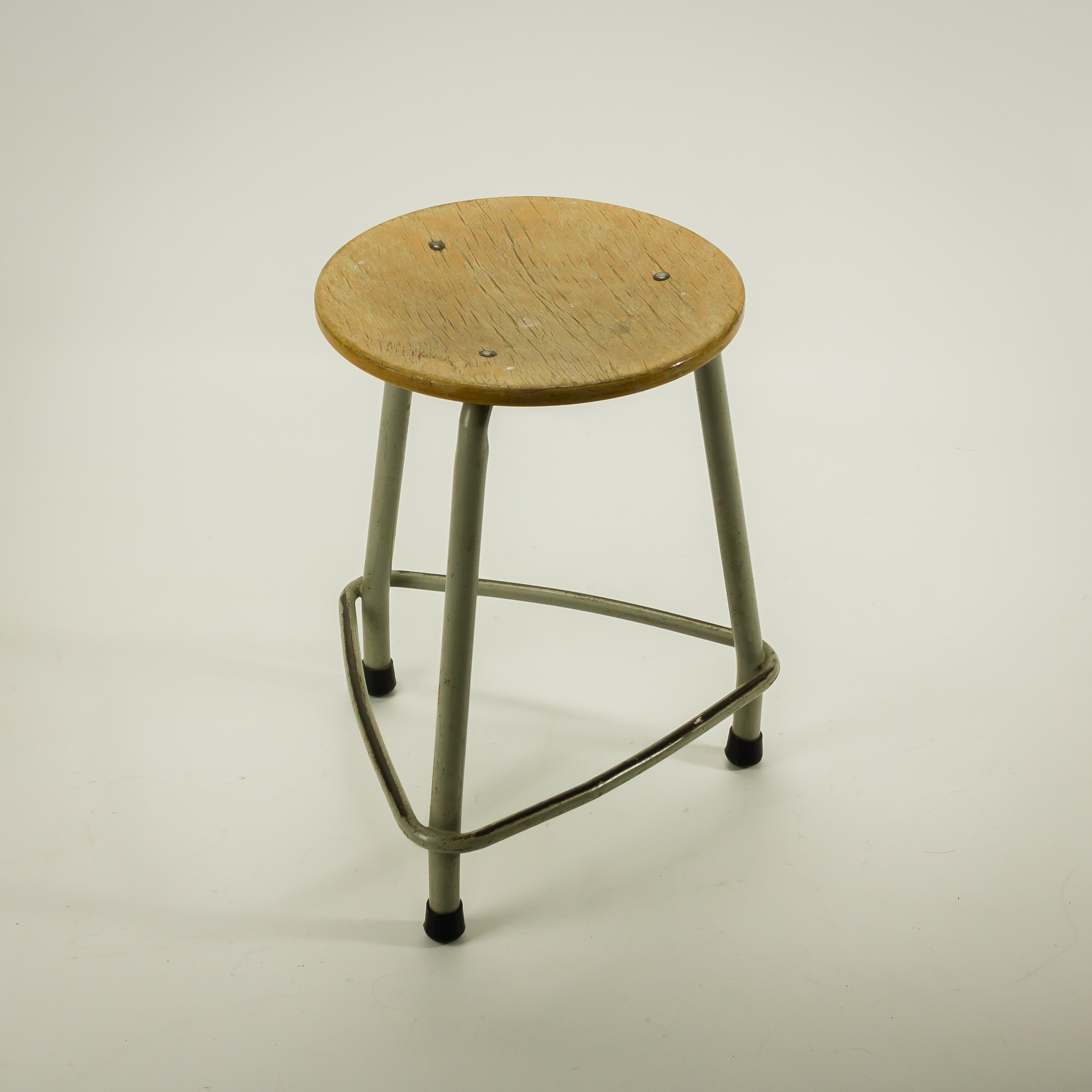 1964 Rare Friso Kramer Coffee Table For Ahrend De Cirkel: 60's Ahrend Kruk Door Friso Kramer