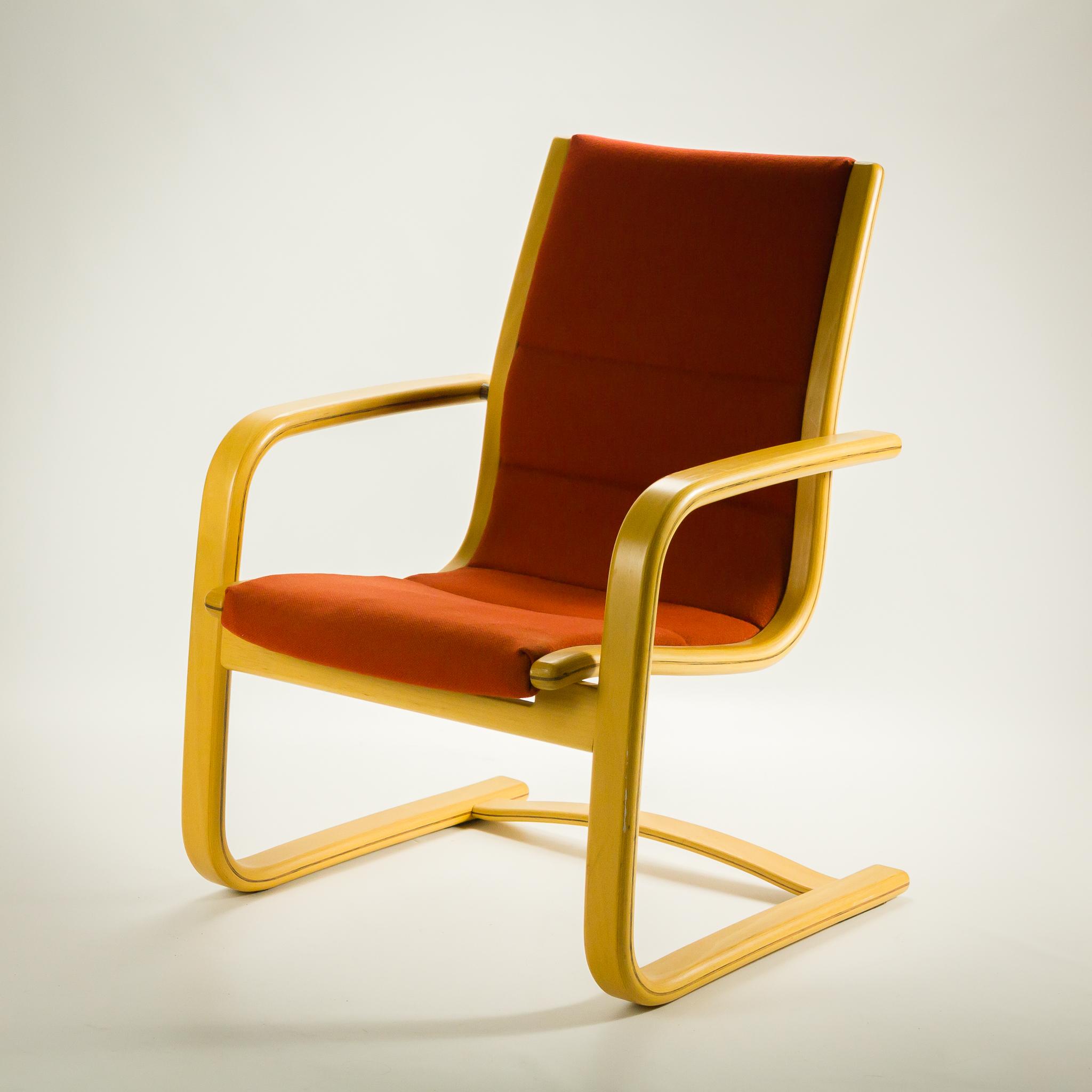 80 u2019s Swedese Lamello fauteuil lage rug Yngve Ekstrom BarbMama