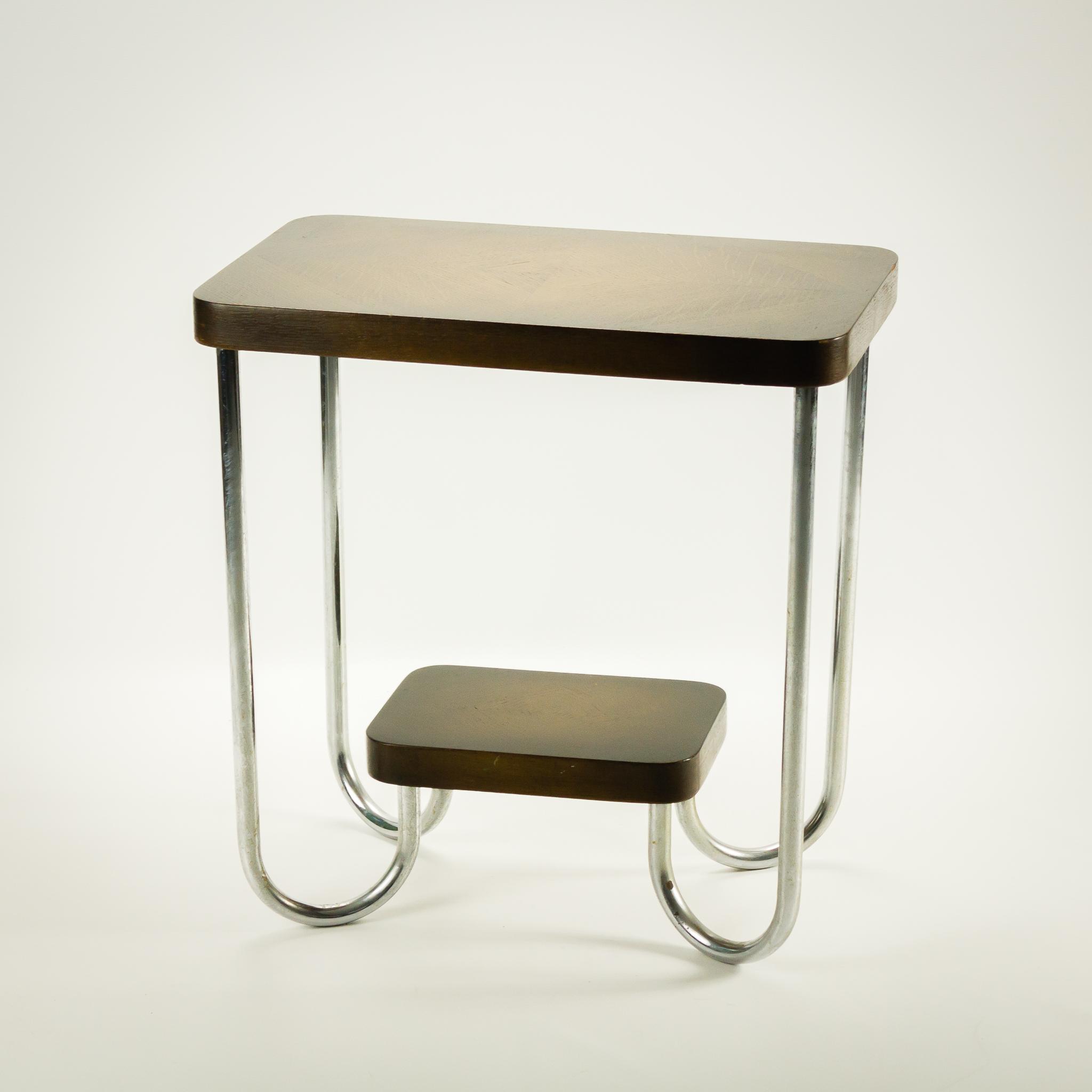 50 s gispen sidetable bijzettafel art deco barbmama - Deco table retro ...