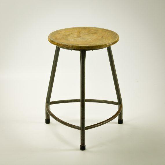 1964 Rare Friso Kramer Coffee Table For Ahrend De Cirkel: 60's Friso Kramer Kruk Voor Ahrend