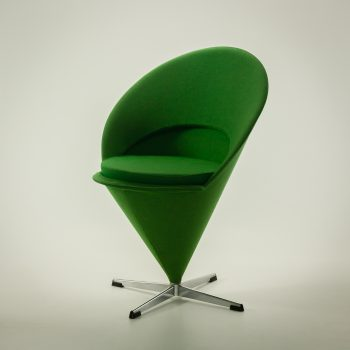 _MG_1113 54350900S 50's Verner Panton Cone chair draai stoel door Vitra Design Vintage Retro Barbmama