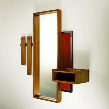 _MG_1395 25350800O 70's Scandinavisch design wandspiegel teak Design Vintage Retro Barbmama
