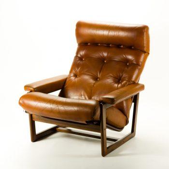 _MG_1575 50061800S 70's Coja stijl leren fauteuil mocca brown Design Vintage Retro Barbmama