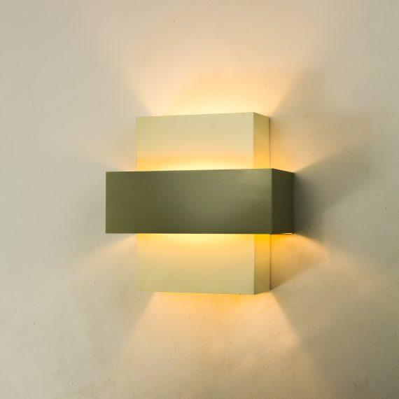60 s anvia metalen wandlamp j hoogervorst barbmama. Black Bedroom Furniture Sets. Home Design Ideas
