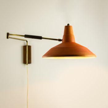 _MG_1842-bewerkt 41061000L 50's Panama stijl oranje wandlamp knikarm Design Vintage Retro Barbmama