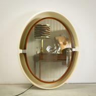 _MG_2984 07061400O Space-Age Allibert A136 wand spiegel met licht Design Vintage Retro Barbmama