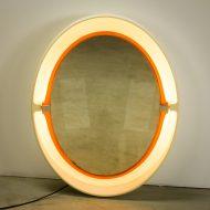 _MG_2988 07061400O Space-Age Allibert A136 wand spiegel met licht Design Vintage Retro Barbmama