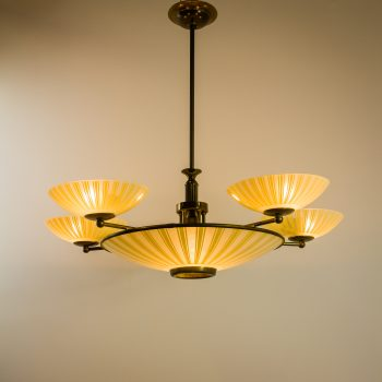 _MG_3256 48060600L Art Deco gang lamp hanglamp koper glas Design Vintage Retro Barbmama