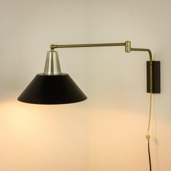 _MG_3490 19062100L 60's knikarm wandlamp, messing aluminium Design Vintage Retro Barbmama