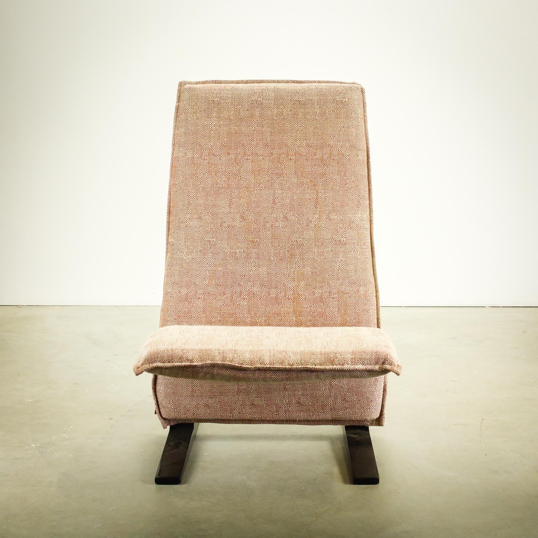 60 s pierre paulin concorde fauteuil artifort set 2 barbmama. Black Bedroom Furniture Sets. Home Design Ideas