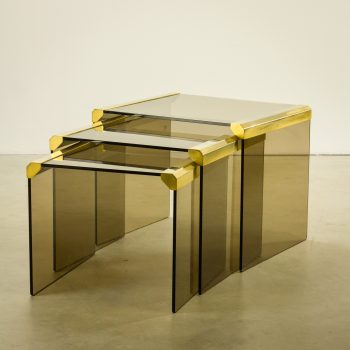_MG_4485 93160430T 70's Gallotti & Radiche nesting tables glas Design Vintage Retro Barbmama