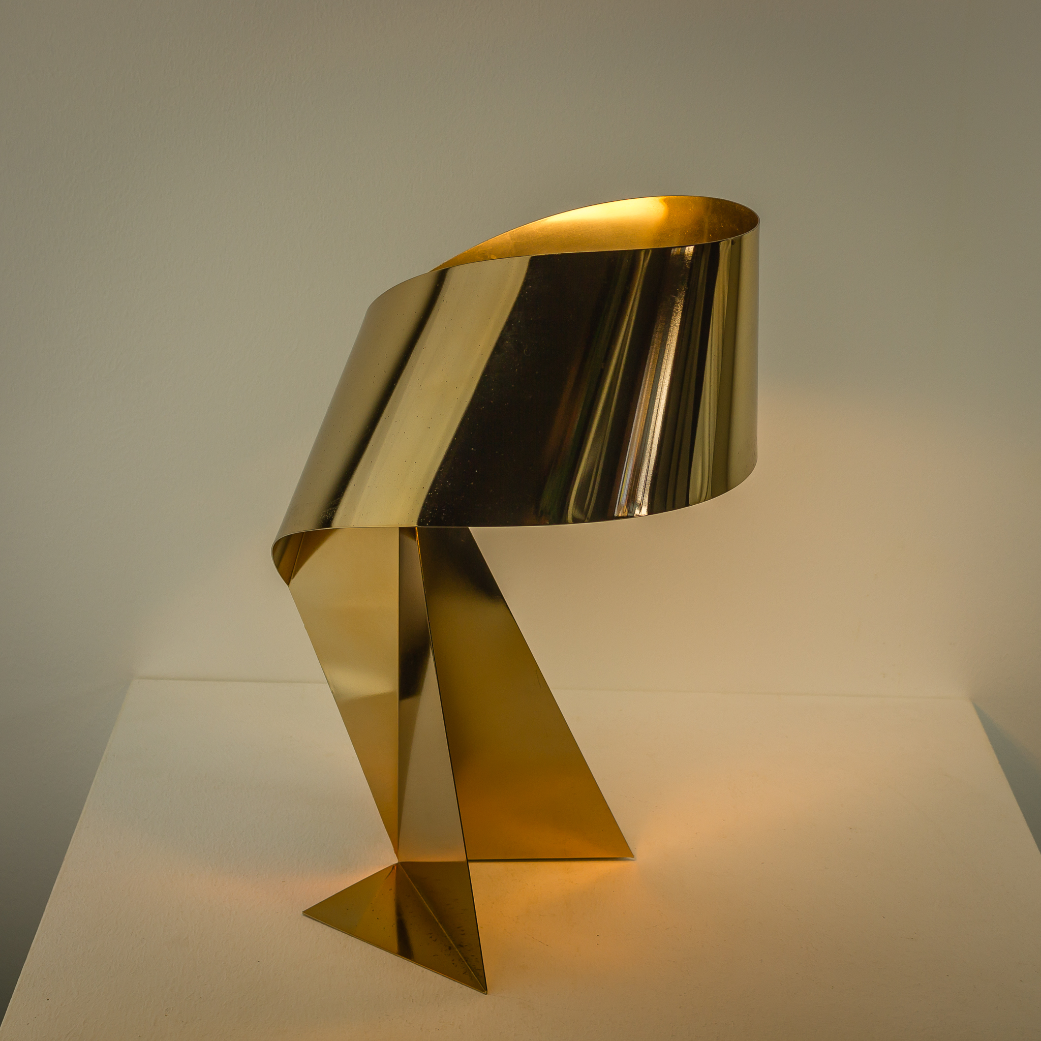 80 s Habitat ?Ribbon? lamp by Claire Norcross BarbMama