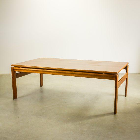 70 s komfort deens teak salontafel barbmama for Coffee table 70 x 70