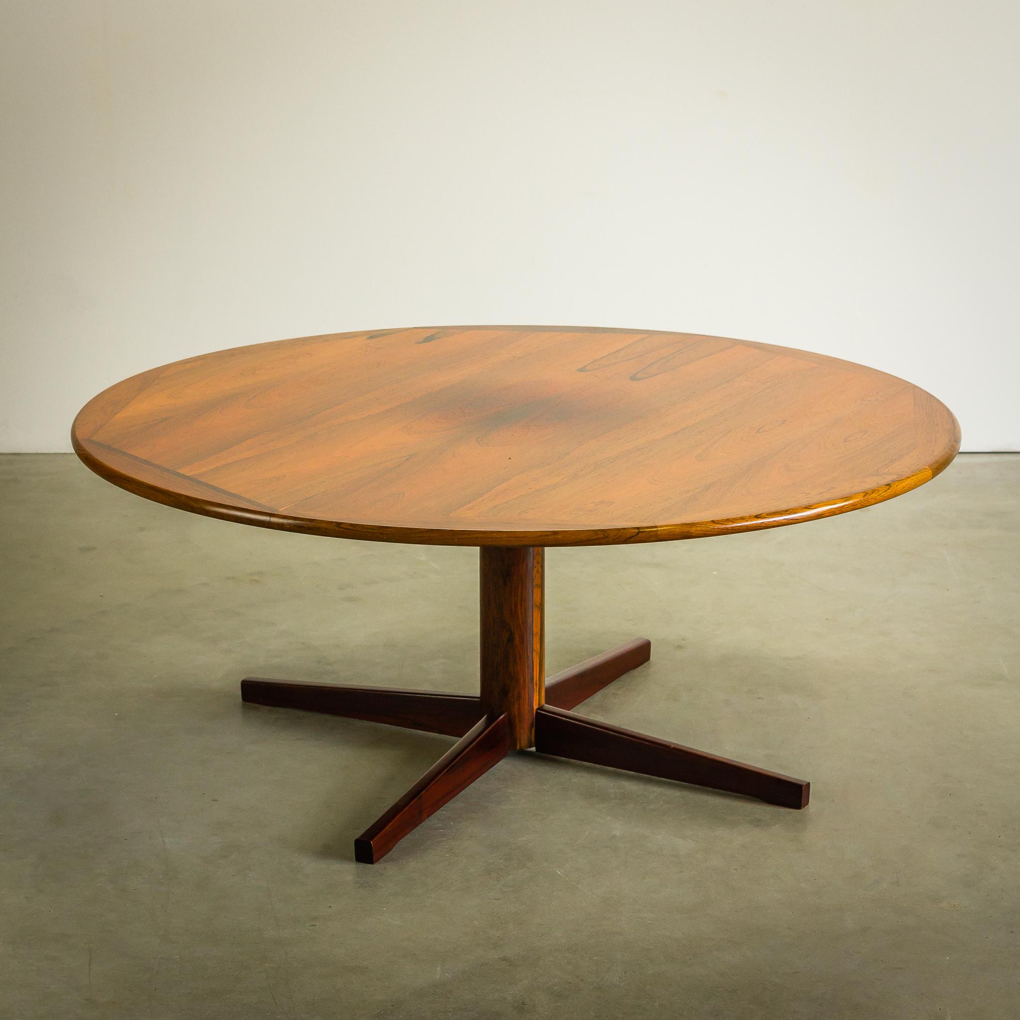 Verwonderend 60's massief Palissander salontafel rond – BarbMama VX-37