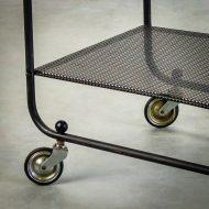 _MG_5693 88160300T 50's Pilastro serveerwagen metaal zwart – wit Design Vintage Retro Barbmama-2