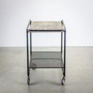 _MG_5698 88160300T 50's Pilastro serveerwagen metaal zwart – wit Design Vintage Retro Barbmama