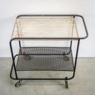 _MG_5699 88160300T 50's Pilastro serveerwagen metaal zwart – wit Design Vintage Retro Barbmama