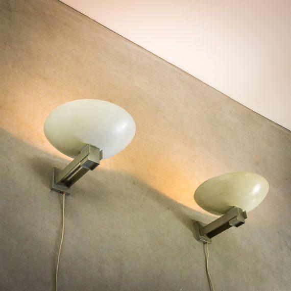 _MG_5901 88162420L 60's Louis Kalff wandlamp Philips set-2 Design Vintage Retro Barbmama