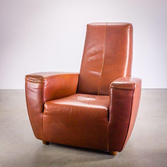 longa design fauteuil leder by gerard van den berg barbmama. Black Bedroom Furniture Sets. Home Design Ideas