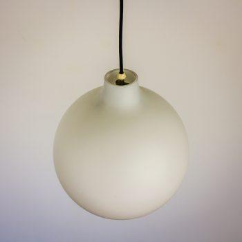 60s louis poulsen bollenlamp opaalglas by vilhelm wolhert satellite barbmama