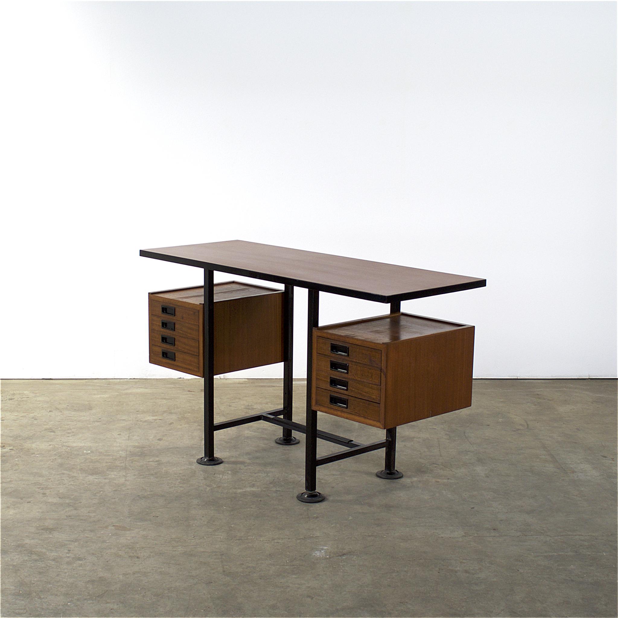 Bureau Retro Design.Mid Century Italian Design 110cm Bureau Desk Barbmama