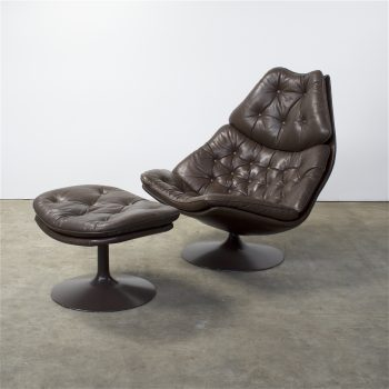 Artifort F588 fauteuil en P585 hocker