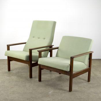pastoe chair, stoel, fauteuil set, teak