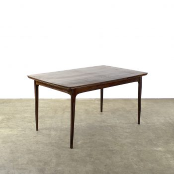 rosewood palissander dining table eettafel 60's