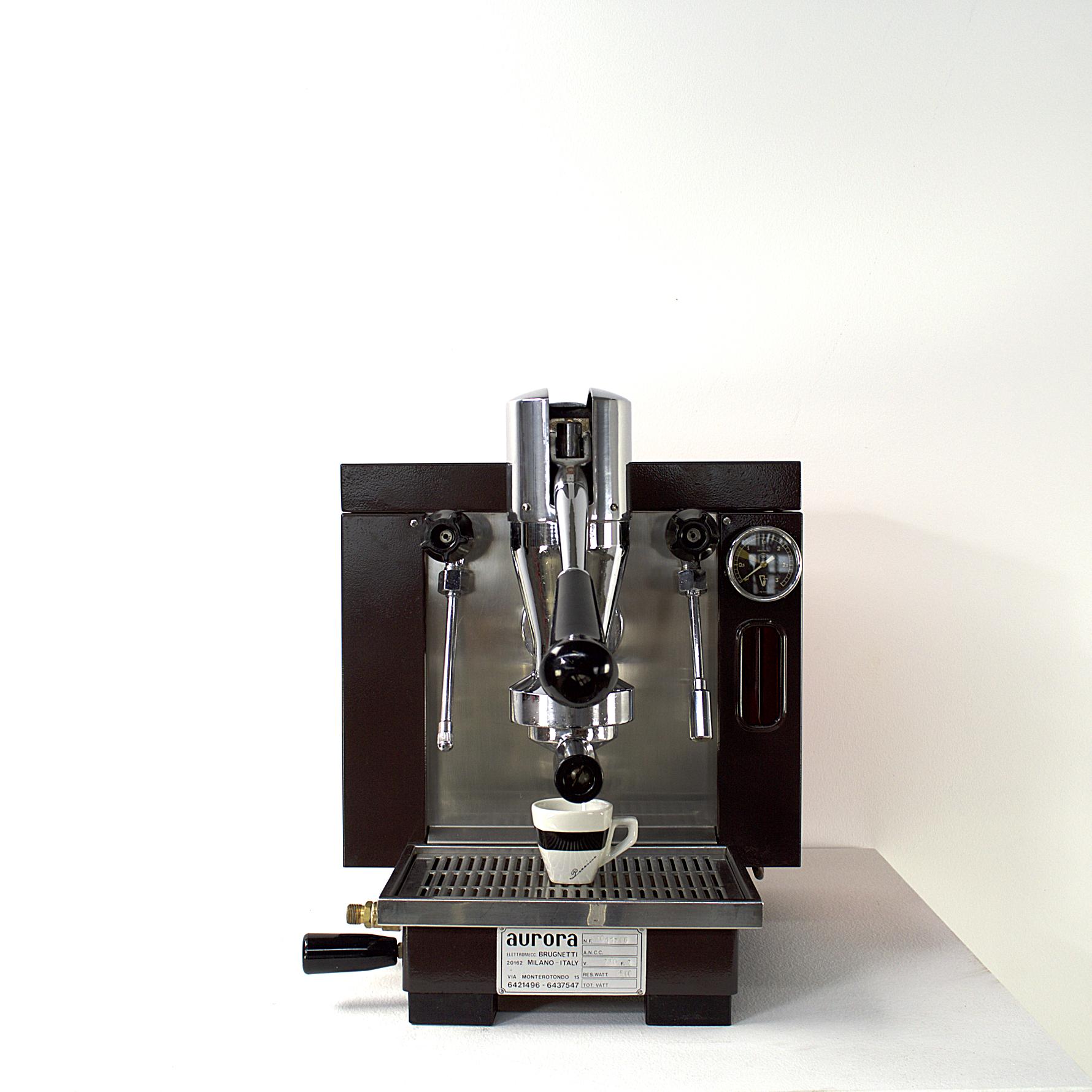 70 S Aurora Brunetti Espressomachine Handle Lever Machine