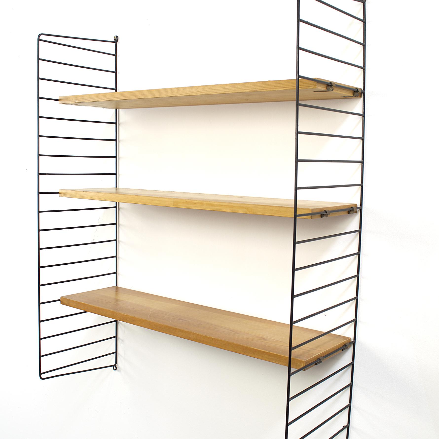 Nisse Strinning 60 s nisse string wall unit ladder shelf by nisse strinning barbmama