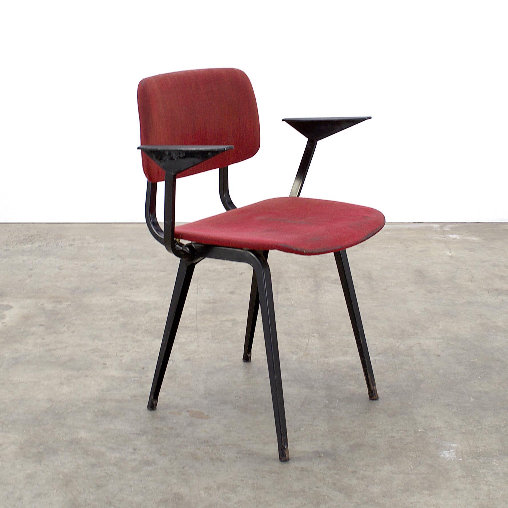 "1964 Rare Friso Kramer Coffee Table For Ahrend De Cirkel: 50's Ahrend ""Revolt"" Arm Chair By Friso Kramer"