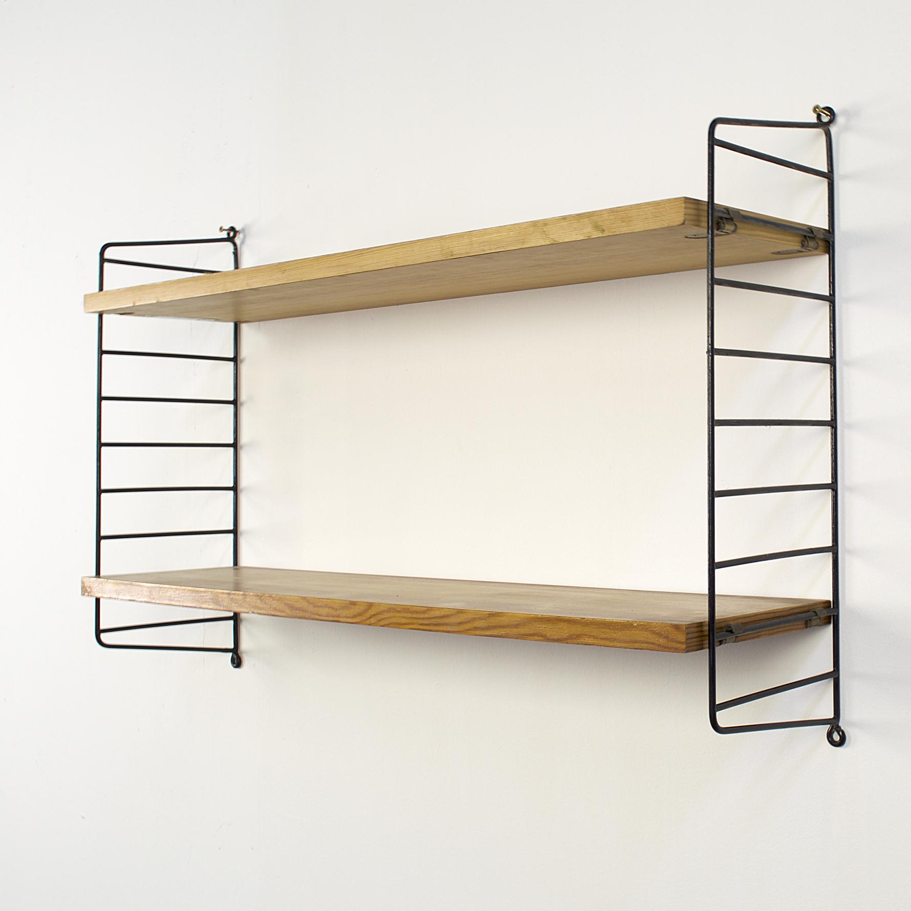 70 s nisse string ladder shelf barbmama. Black Bedroom Furniture Sets. Home Design Ideas