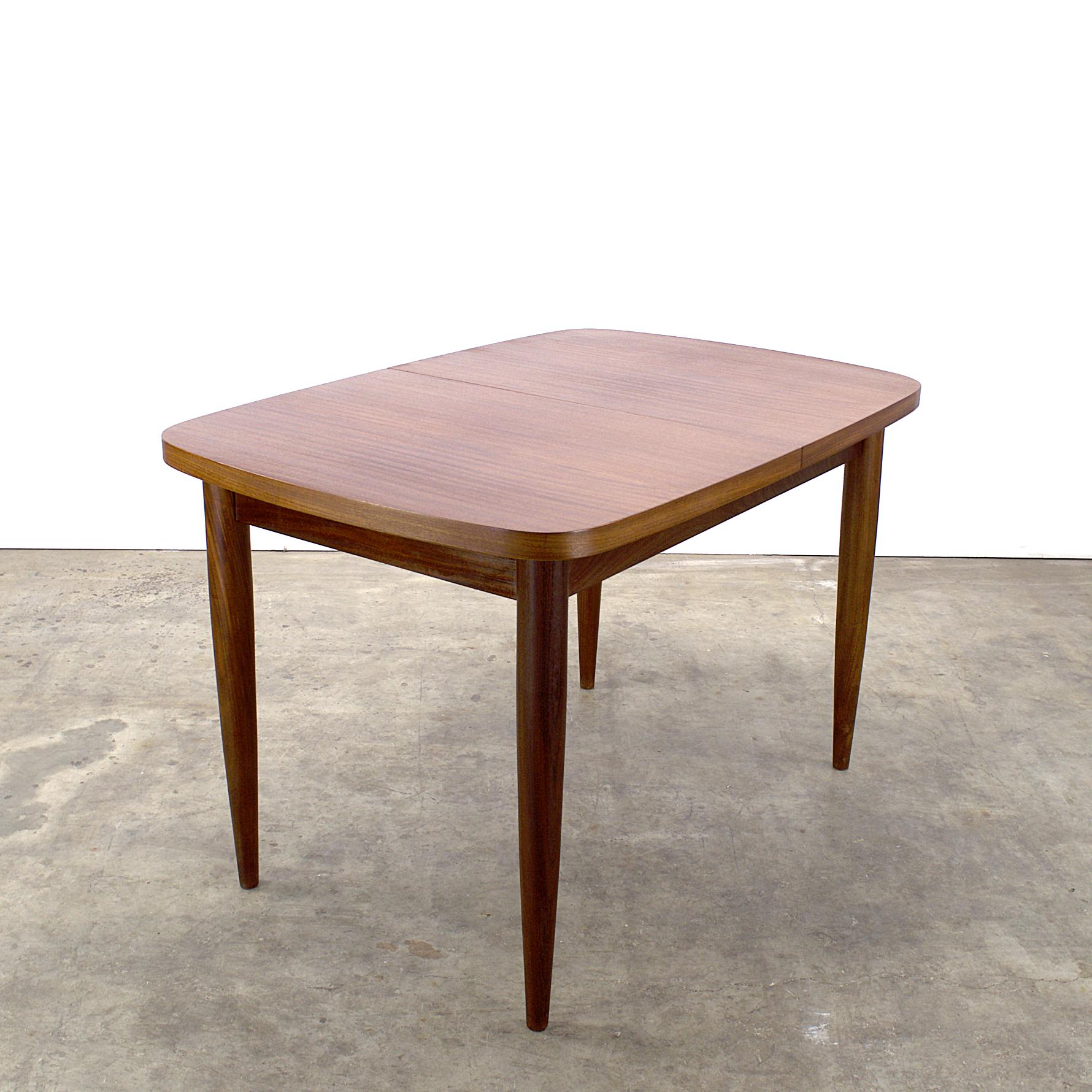 Teak Extendable Coffee Table: 60's Teak Farstrup Extendable Dining Table