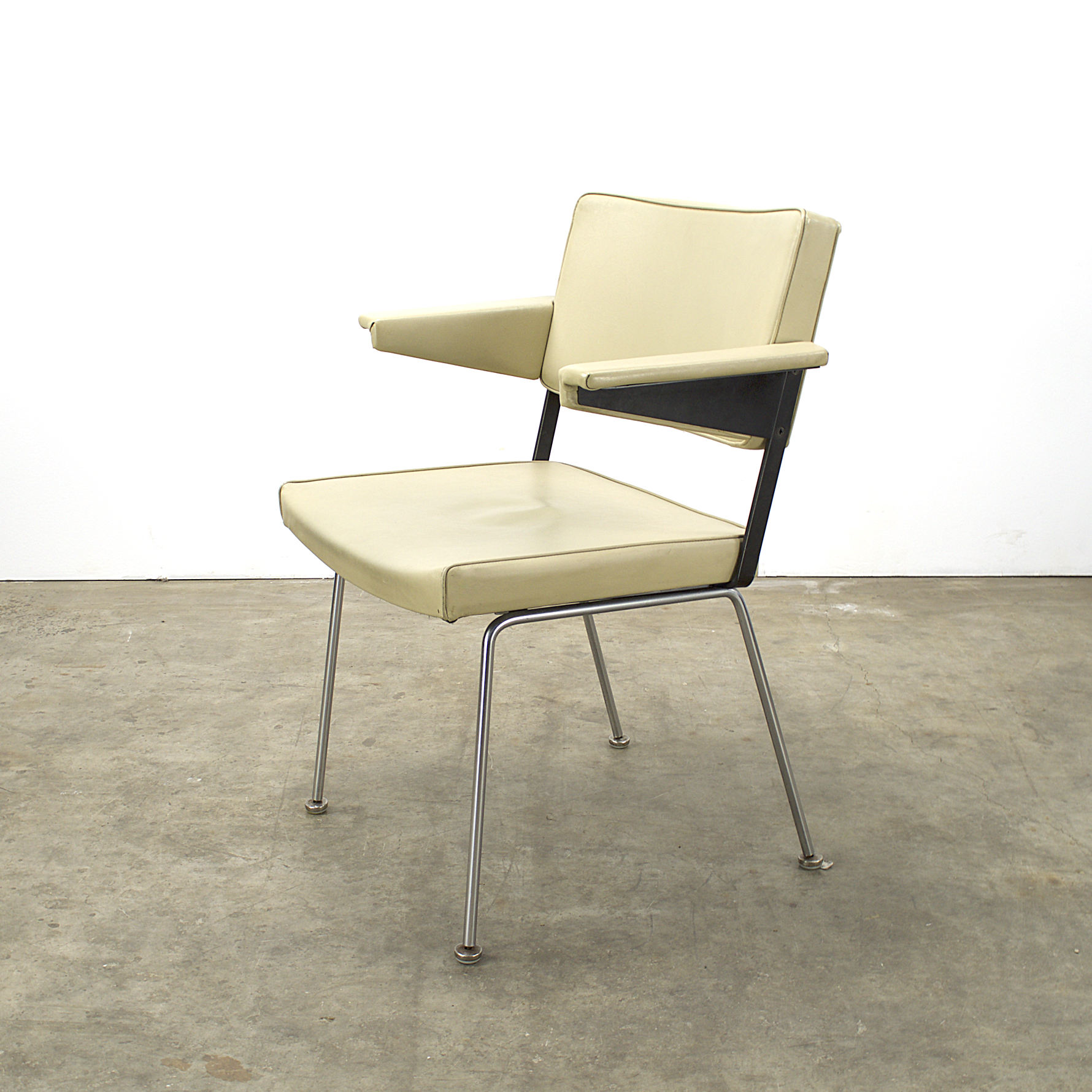 70 s gispen 1265 dining chairs by andr cordemeijer set 4 barbmama - Stoel leer rock bobois ...