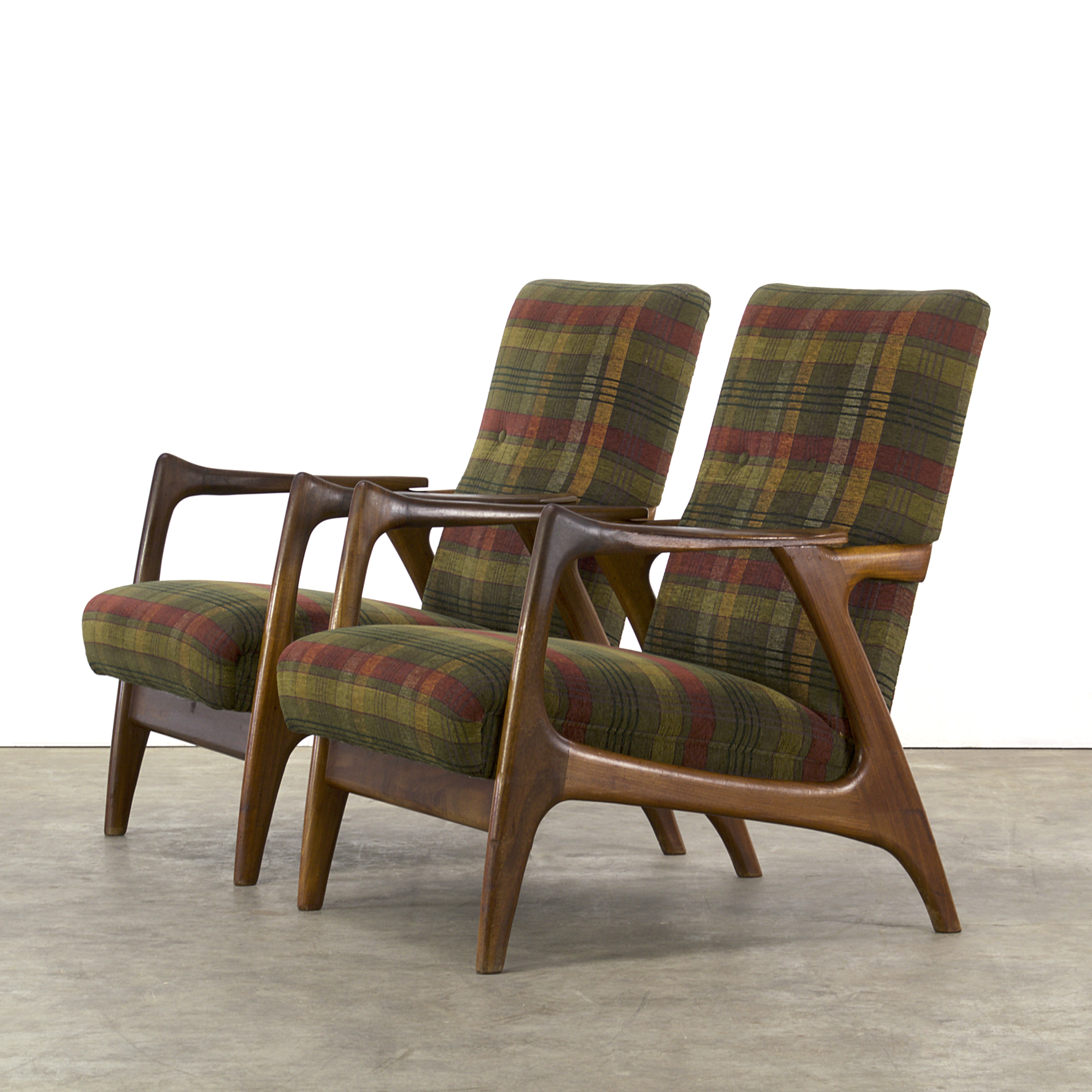 Midcentury fauteuils and or seating group 60s 70s set 2