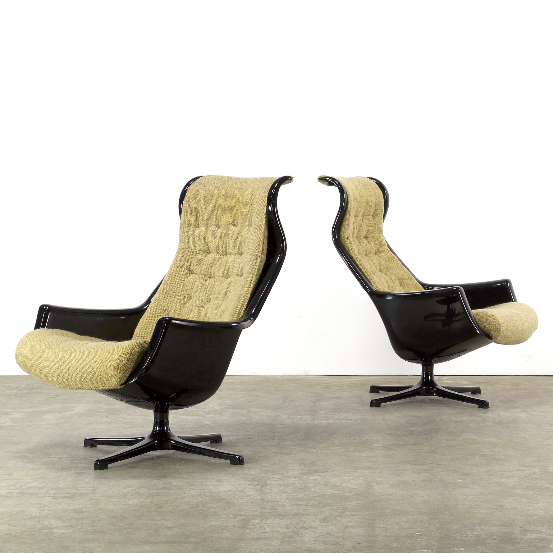 70s alf svensson yngvar sandstr m galaxy fauteuils for dux set 2 barbmama. Black Bedroom Furniture Sets. Home Design Ideas
