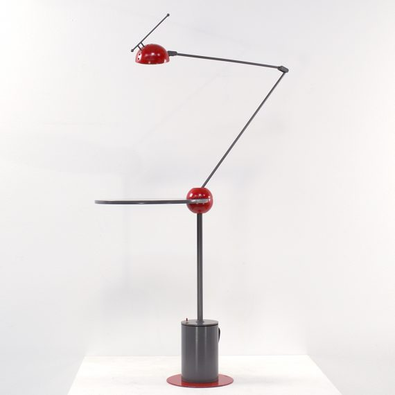 80s Halogen Long Arm Table Lamp