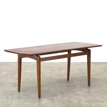 70s teak coffeetable for wilhelm renz