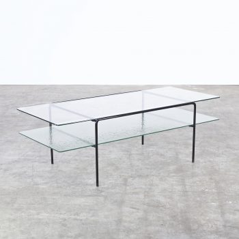 50s andre cordemeyer glass coffee table for gispen