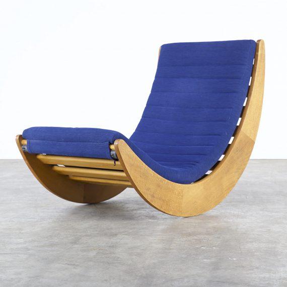0408037zf verner panton rocking chair rosenthal vintage retro design