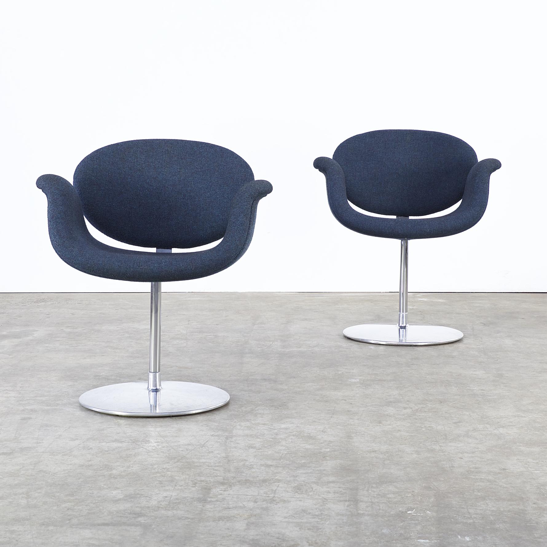 pierre paulin f163 little tulip fauteuil for artifort. Black Bedroom Furniture Sets. Home Design Ideas